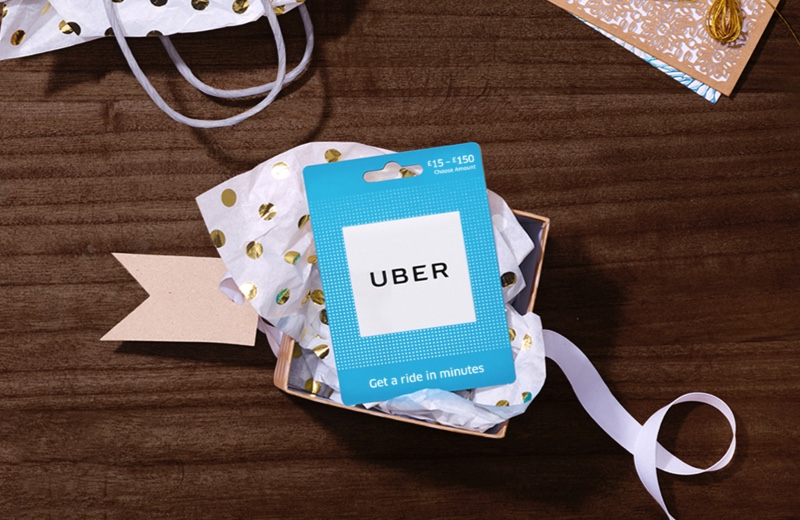 Purchase Gift Cards For Uber | Available Online