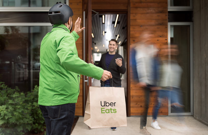 Deliver With Uber Eats In The United Kingdom