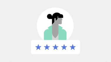 Rider and driver rate 1 to 5 stars
