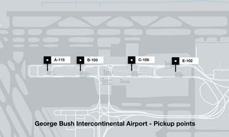 Instructions For Drivers At George Bush Intercontinental Airport ...