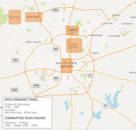 Where To Drive In San Antonio | Uber