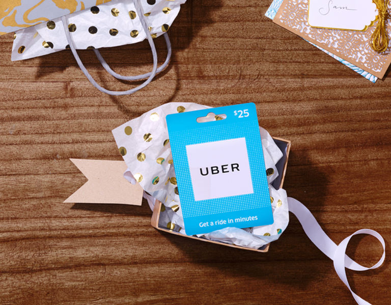 Give the gift of Uber