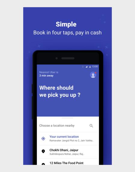 Uber Lite - Lite alternative for Uber