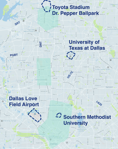 Where to Drive in Dallas - Fort Worth | Uber