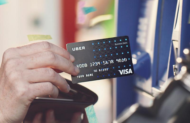The Uber Visa Debit Card