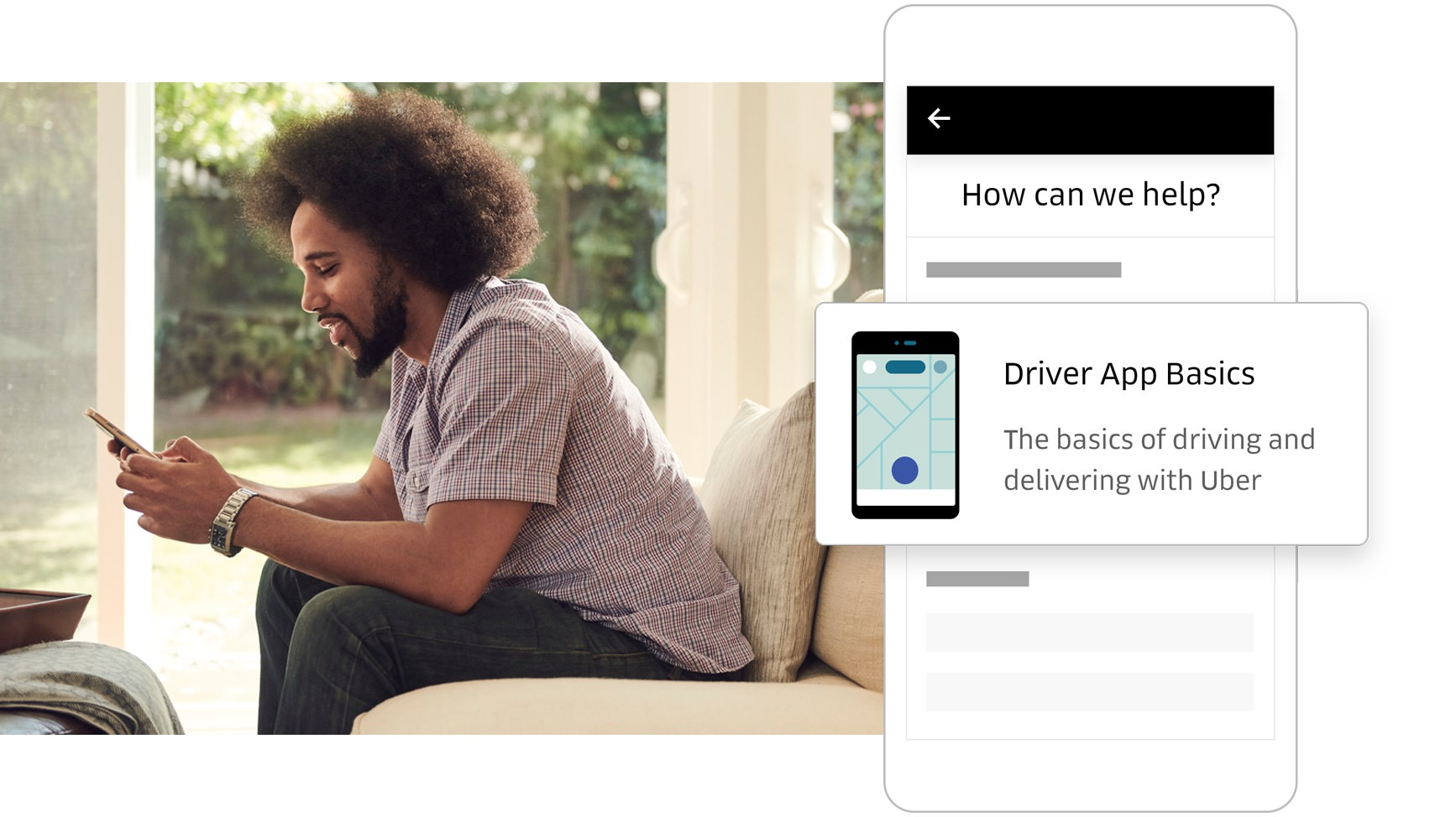 How uber driver app works