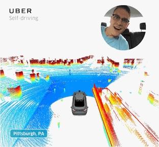 Self-Driving Uber Selfie