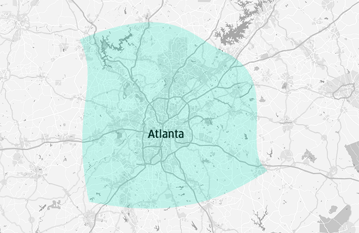ATL UberPOOL FAQs Uber Blog - Where is atlanta