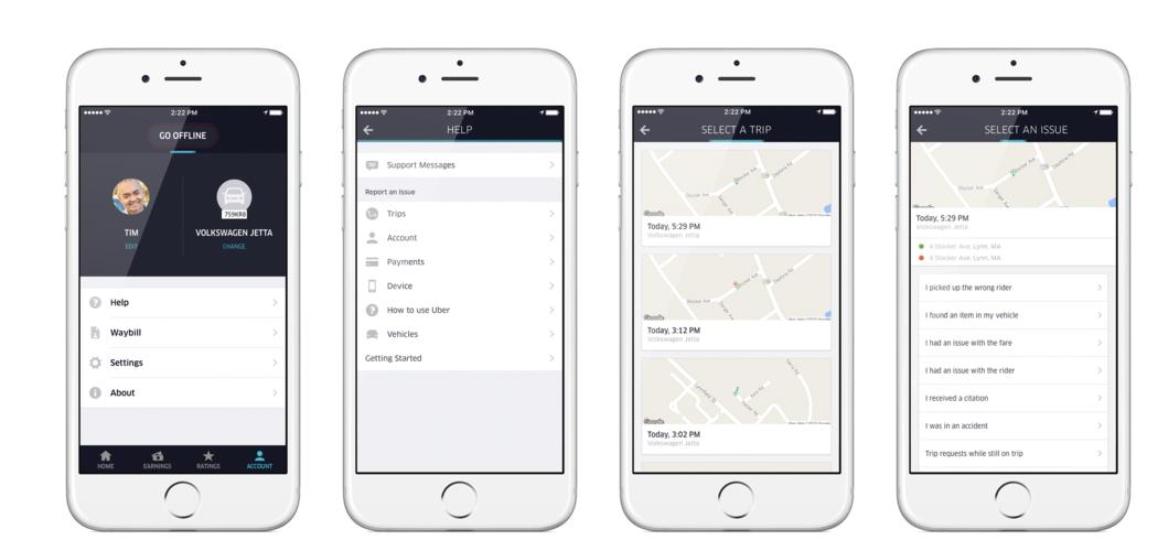 uber partner usage