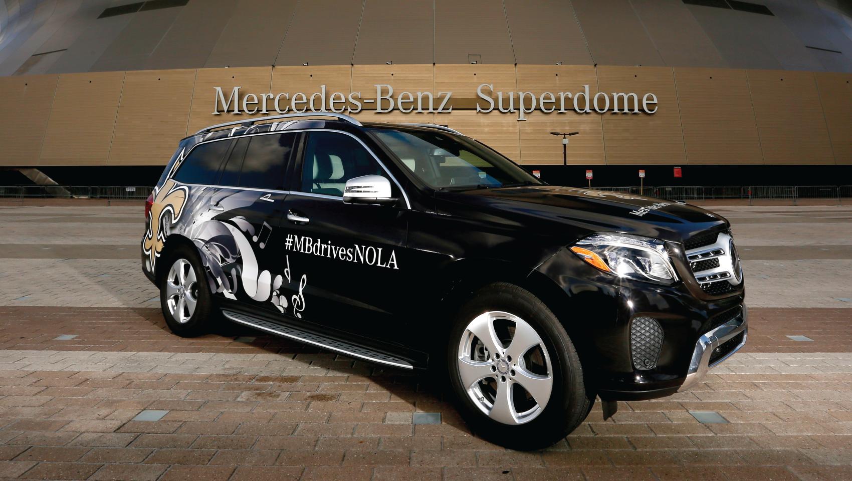 Mercedes benz vip gameday package giveaway uber for Mercedes benz nola