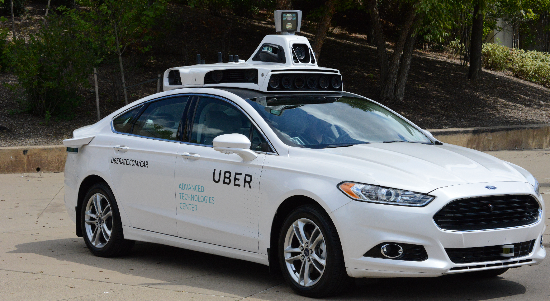 Uber Advanced Technologies Group Car