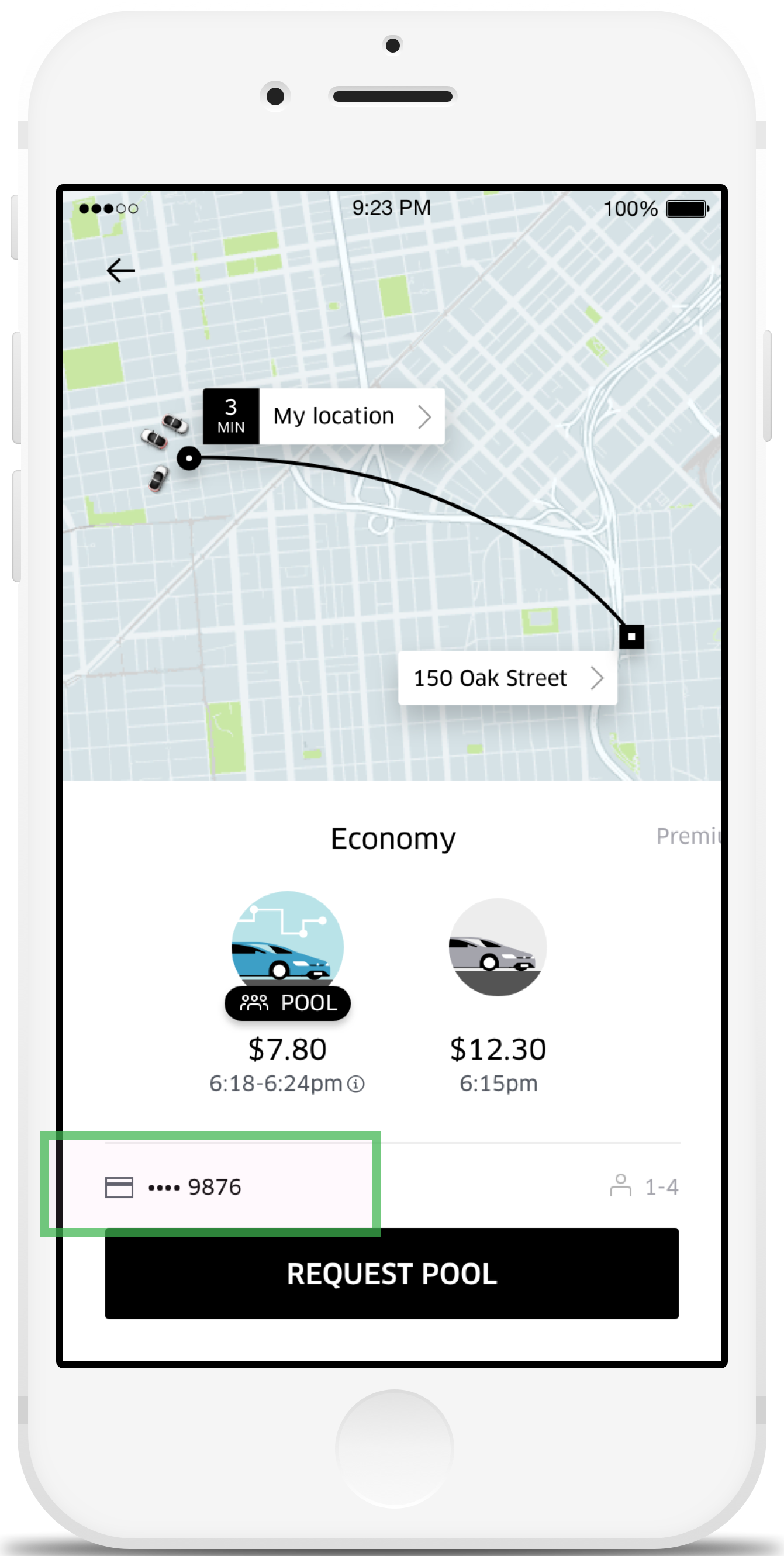 commuter benefits for uberpool